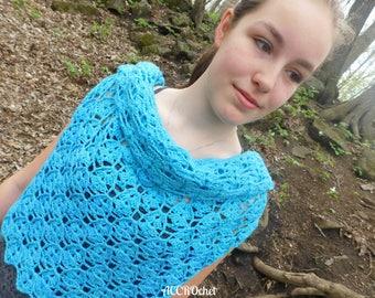 OOAK Hope - Convertible Top - Crochet Top - Crochet Cowl - Convertible Crochet Clothing - Multiway Crochet Clothing - Crochet Scarf