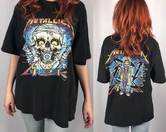 Vintage Metallica Tour 2000 M2K Shirt Size XL