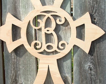 Wood Monogram Wall Decor monogram wall decor | etsy