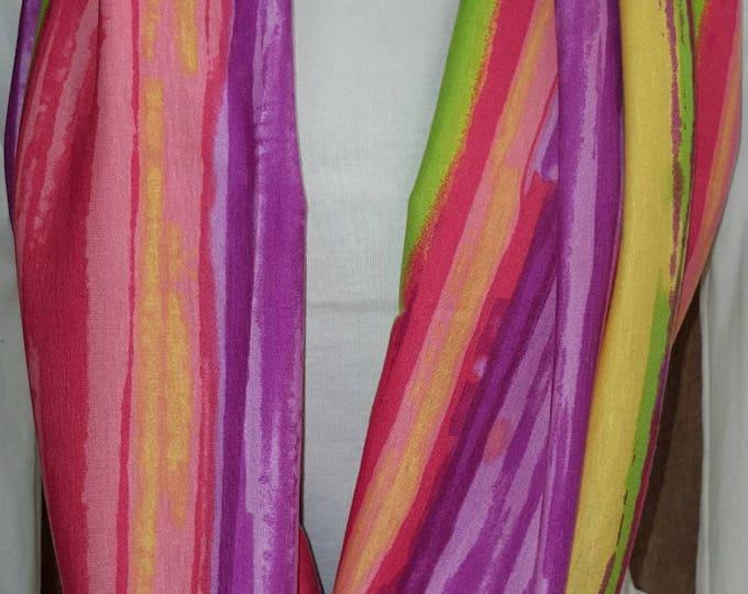 Bright Color Wrap Scarf
