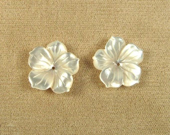 Mother of Pearl Earring Jackets 17mm