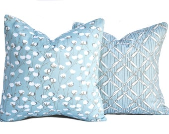 Light blue pillow Etsy