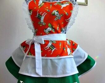 Apron # 1150 - Mexico chiwawa retro apron