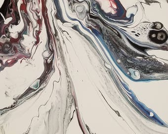 226 Acrylic Fluid Painting