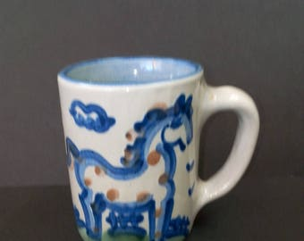 M A Hadley Horse Mug
