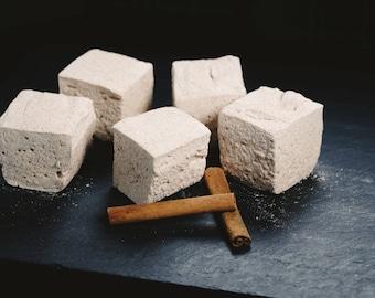 Cinnamon Sugar Marshmallows - 1 dozen Gourmet homemade marshmallows