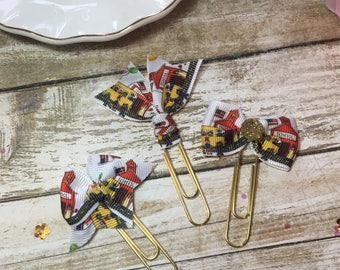 Schoolhouse - Planner Clips / Bookmarks