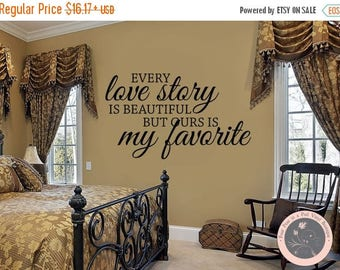 CLEARANCE SALE Bedroom Decor - Bedroom Wall Decal - Master Bedroom Wall Decal - Inspirational Quote - Vinyl Wall Decal - Wall Quote