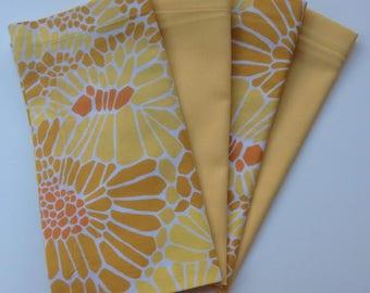 Cloth Napkins - Optional Golds 4 sets