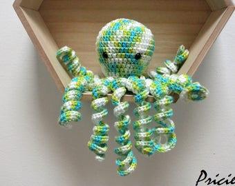 amigurumi crocheted Octopus Plushie