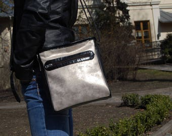 leather bag, shoulder bag, hand bag, ONLY ONE
