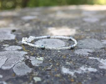Freshwater pearl stacking bracelet