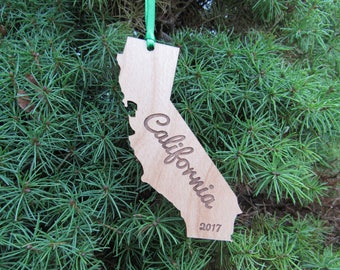 California State Ornament