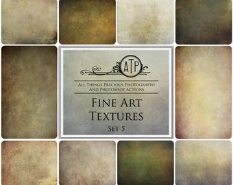 10 High Res FINE ART Digital Overlays / Textures Set 5    BUY 3 Get 1 free  Code  ATPbuy3get1free