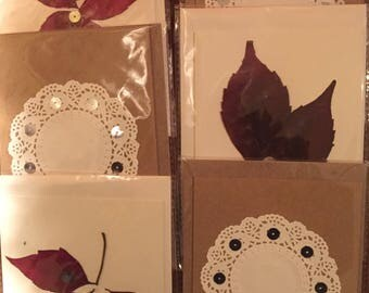 Pack Six Handmade Greeting Cards
