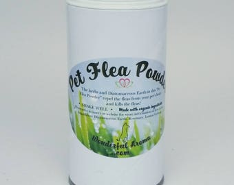 Pet Flea Powder