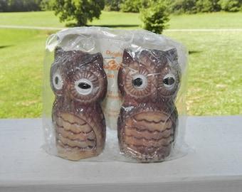 Pet Set Shakers - Owls - Salt & Pepper