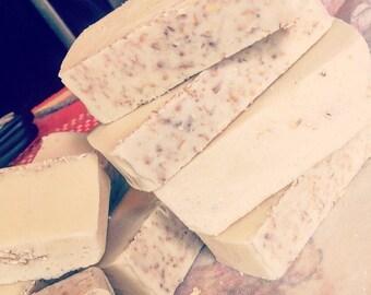 Honey, oatmeal soap