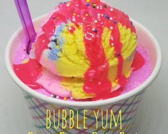 Bubble Yum BananaBerry Sunday Bath Bomb & Bubble Bar