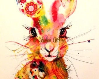 Pretty Thing Hare Giclee Print