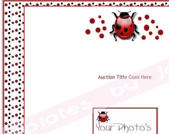 Ladybug Auction Listing Template