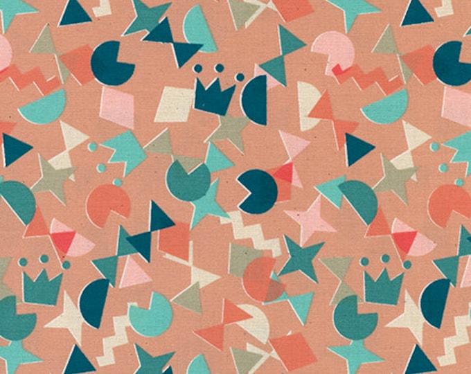 Pre-Sale- Shape Up in Peachy -Paper Cuts -Rashida Coleman-Hale for Cotton + Steel