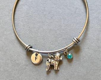 Bichon Frise Bangle Bichon Frise Bracelet Bichon Frise Jewelry