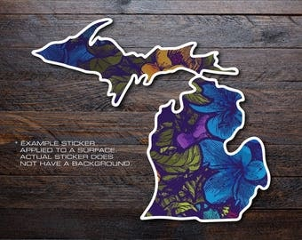 Michigan Mitten Vinyl Decal Sticker A33