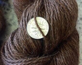 Llama Yarn - Reddish Brown 460 yards