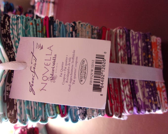 Free Spirit Novella 30 Fat Quarter Bundle Cotton Fabric