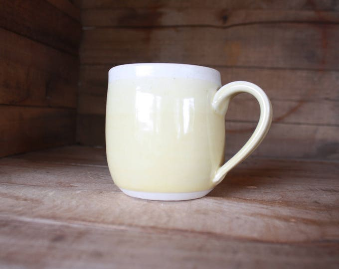 Coffee Mug - Pastel Yellow