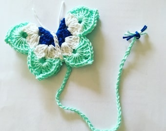 Bookmarks crochet Butterfly