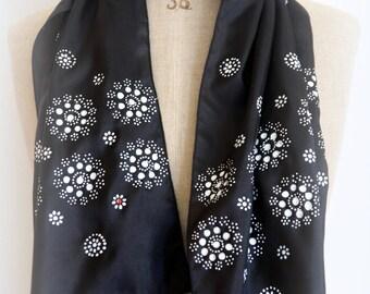 Dot work scarf No. 04