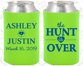 Neon Green Wedding, Neon Green Can Coolers, Neon Green Wedding Favors, Neon Green Wedding Gift, Neon Green Party Decorations (22)