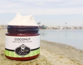 Body Butter Lotion // COCONUT // Thick like body butter // Available in an 2 oz bottle or jar // non-greasy