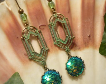 Treasure of the Nix - handmade Earrings