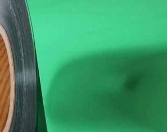 "Green Metallic 20"" Heat Transfer Vinyl Film By The Yard"