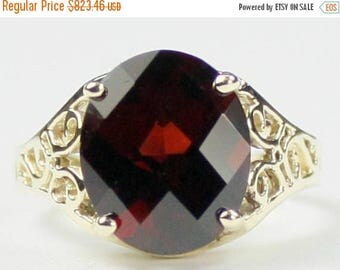 On Sale, 30% Off, Mozambique Garnet, 14KY Gold Ring, R057