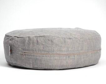 Only covers!Linen Meditation cushion Buckwheat pillow Zafu cushion Yoga meditatation Zafu meditation pillow Floor pillow Floor cushion Linen