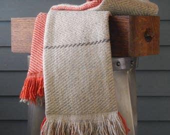 Handwoven Wool Scarves - Prototype Sale - Handwoven in Maine
