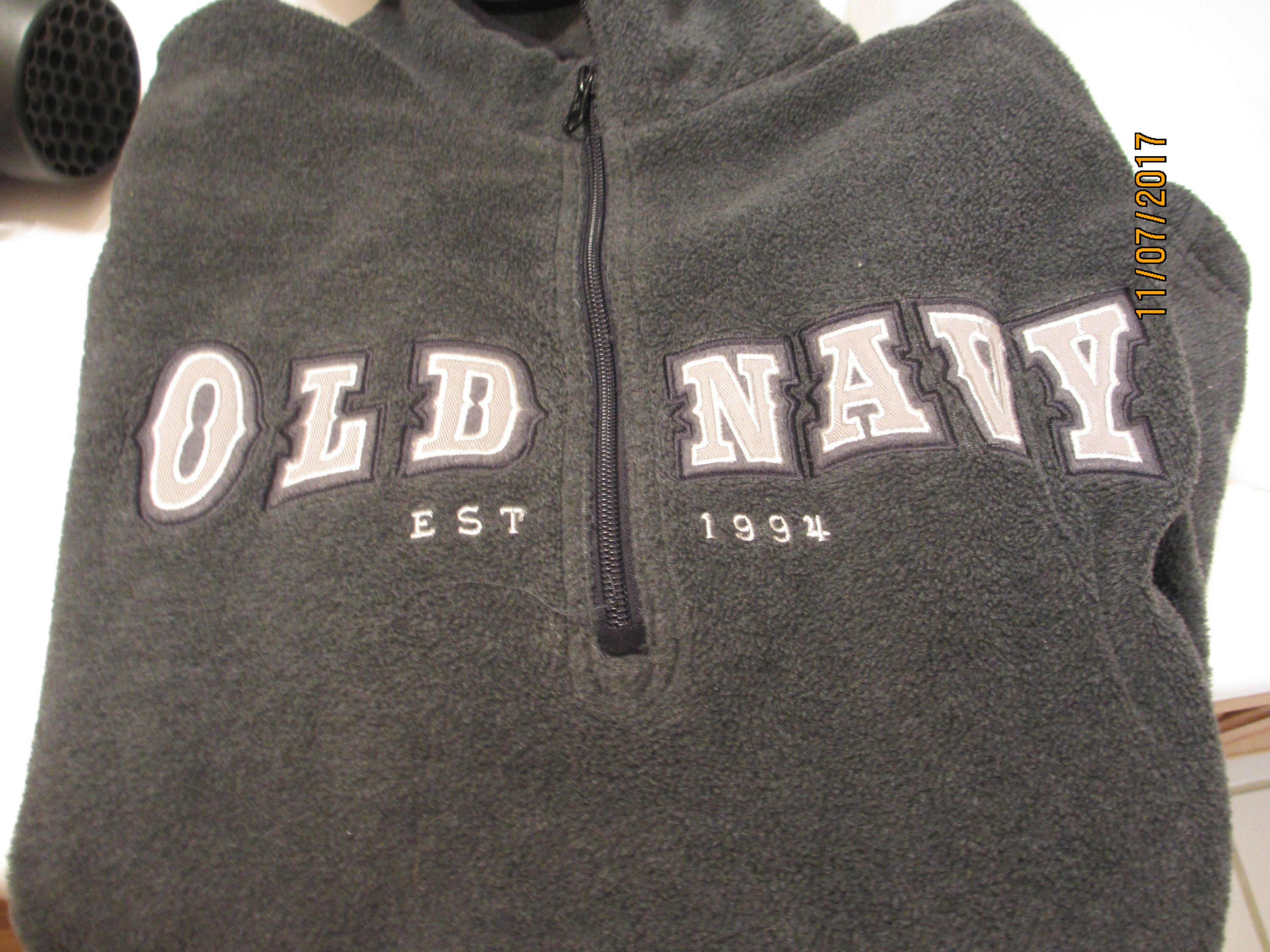 Mens Consignment, Mens Large Old Navy Fleece Pullover, Mens Fleece,