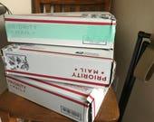 Medium Priority Mail Art Supply Purge Box