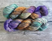 Another Glorious Morning. Makes Me Sick - Superwash Merino Tweed Hand Dyed Yarn - Sock Weight yarn - Fingering Weight Yarn
