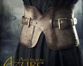 Unique - Aslaug Belt - gray and black