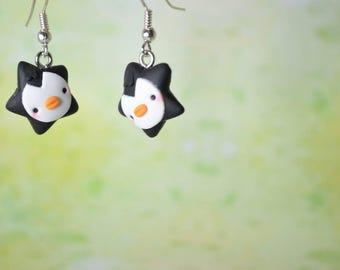 Kawaii Penguin Stars