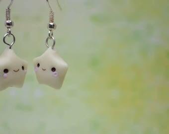 Kawaii Glow-in-the-Dark Star Earrings