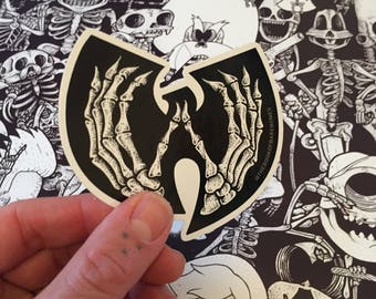 WuTang Skeleclan Vinyl sticker