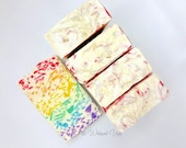 Confetti Candy Organic Luxury Body Bar / Handcrafted Natural Soap / Goats Milk Soap / Organic Ingredients / Lush Soap / Whipped Upp Soap