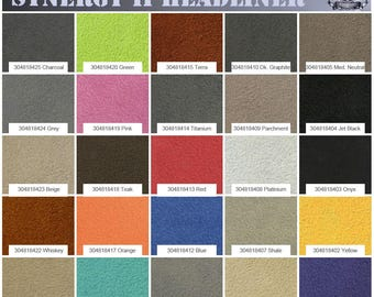"""Synergy II Suede Headliner Fabric 1/8 Foam Backed 60"""" Wide Sold By The Yard"""