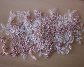 Hair Accessories - CANDICE Beaded Lace Comb